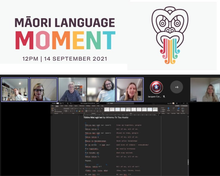 Photo of Gareth | Maori Language Moment 2021