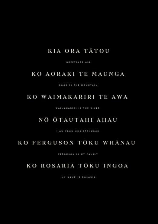 Photo of Rosaria | Maori Language Moment 2021