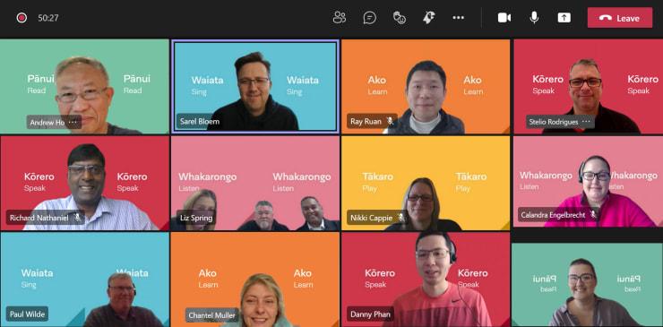 Photo of Crystal   Maori Language Moment 2021