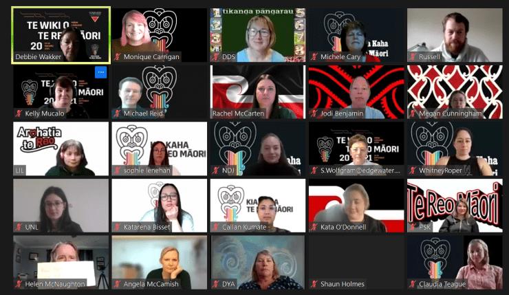 Photo of Monique   Maori Language Moment 2021