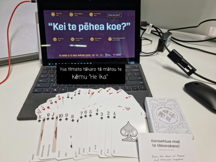 Photo of Terri | Maori Language Moment 2021