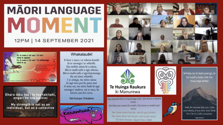 Photo of Liz   Maori Language Moment 2021