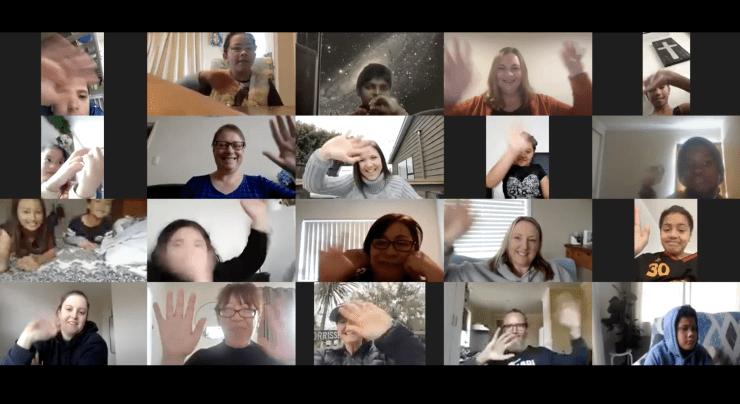 Photo of Sarah   Maori Language Moment 2021