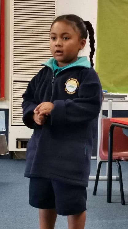 Photo of Sian   Maori Language Moment 2021