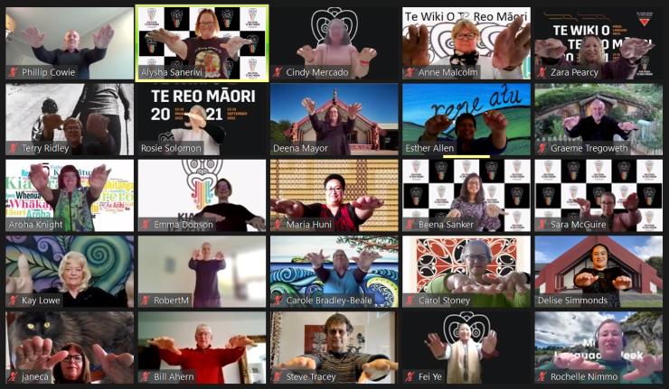 Photo of fiona   Maori Language Moment 2021