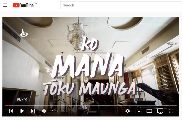 Photo of Joel'   Maori Language Moment 2021