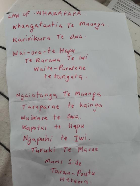 Photo of Frederick   Maori Language Moment 2021