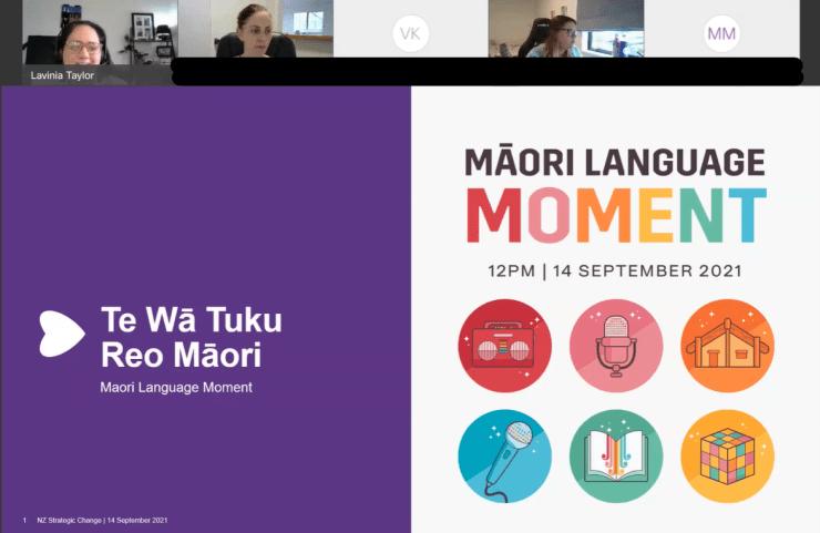 Photo of Lavinia   Maori Language Moment 2021