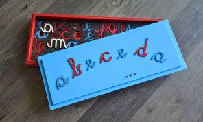 Montessori črke