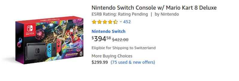 Amazon's result double price