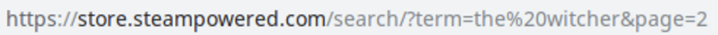 Hint Steam URL