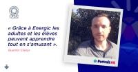 Portraits d'engagé·e·s : Quentin, enseignant et chargé de mission développement durable
