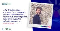 Portrait d'un engagé : Étienne, chargé d'affaires chez Axoé