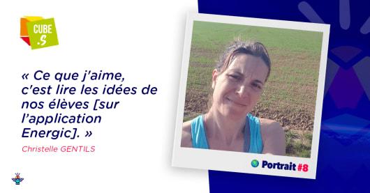 Portrait d'une engagée : Christelle, gestionnaire au collège La Chènevière des Arbres