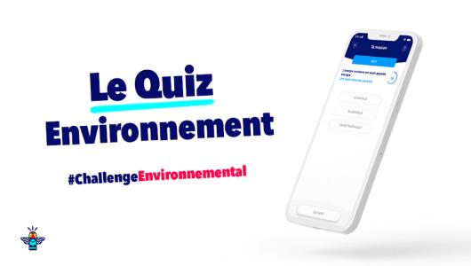 Le Quiz Energic pour tester et valider ses connaissances environnementales par le jeu