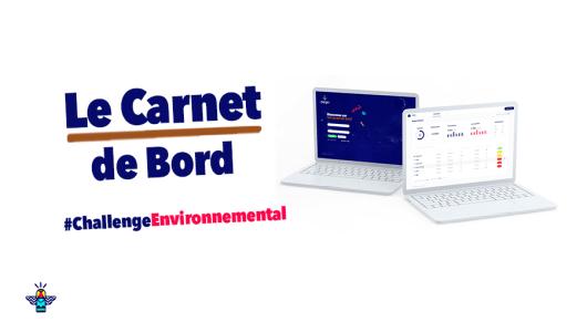 Le Carnet de Bord pour suivre les statistiques de Challenge Environnemental et piloter votre démarche RSE