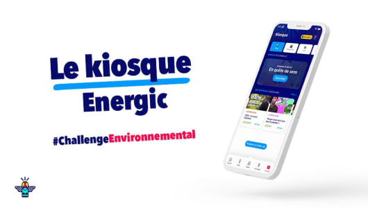 Le Kiosque Energic, le condensé de culture Développement Durable pour se former au quotidien et à son rythme