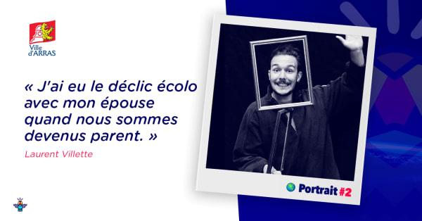 Portraits d'engagé·e·s : Laurent Villette, référent périscolaire
