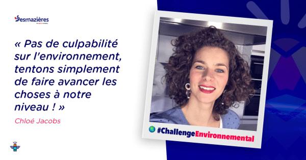 Portrait d'une engagée : Chloé, Responsable Communication chez DESMAZIÈRES