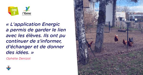 Le Gâtinais en Bourgogne, collège engagé pour l'environnement