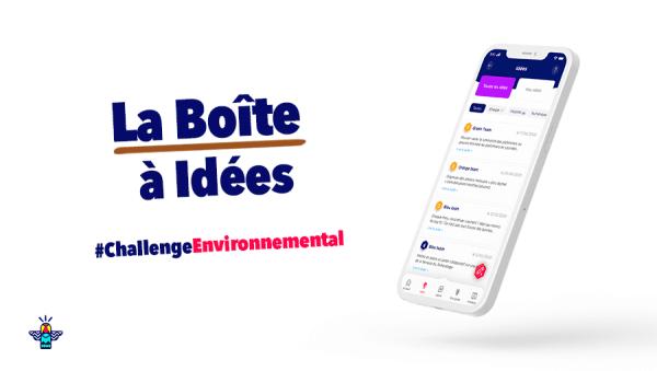 La Boîte à idées, pour favoriser la remontée d'idées et améliorer le bilan carbone de la communauté