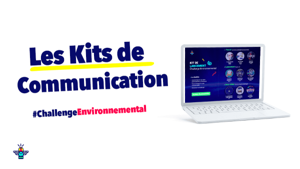 Les Kits Energic pour communiquer facilement tout au long du Challenge Environnemental Energic