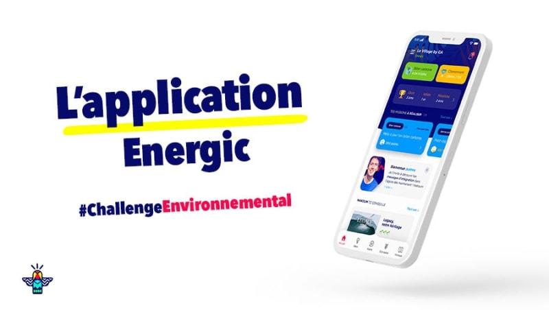 L'application Energic pour sensibiliser, impliquer et valoriser (même à distance) !