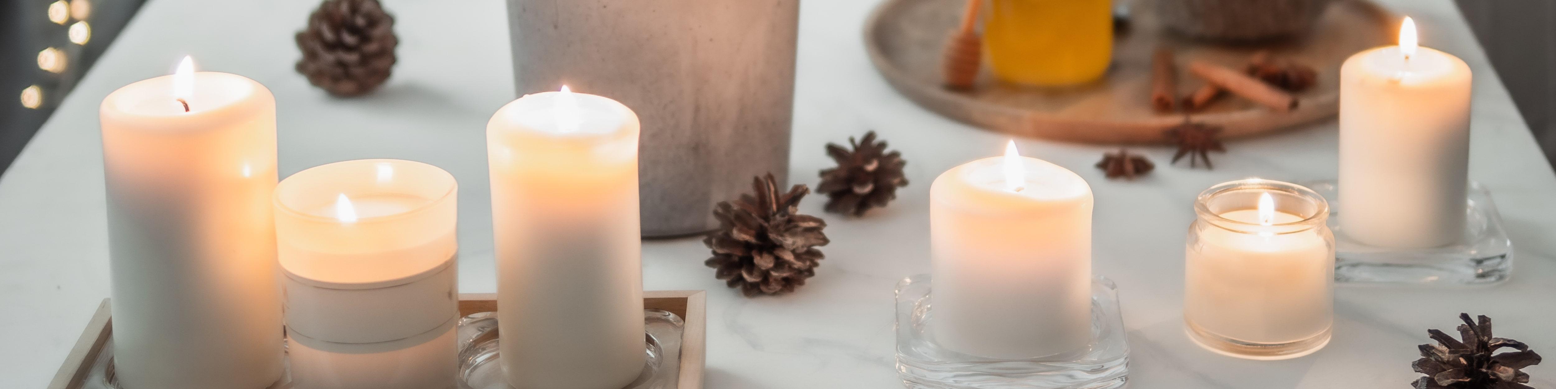 les bougies pour un intérieur hygge