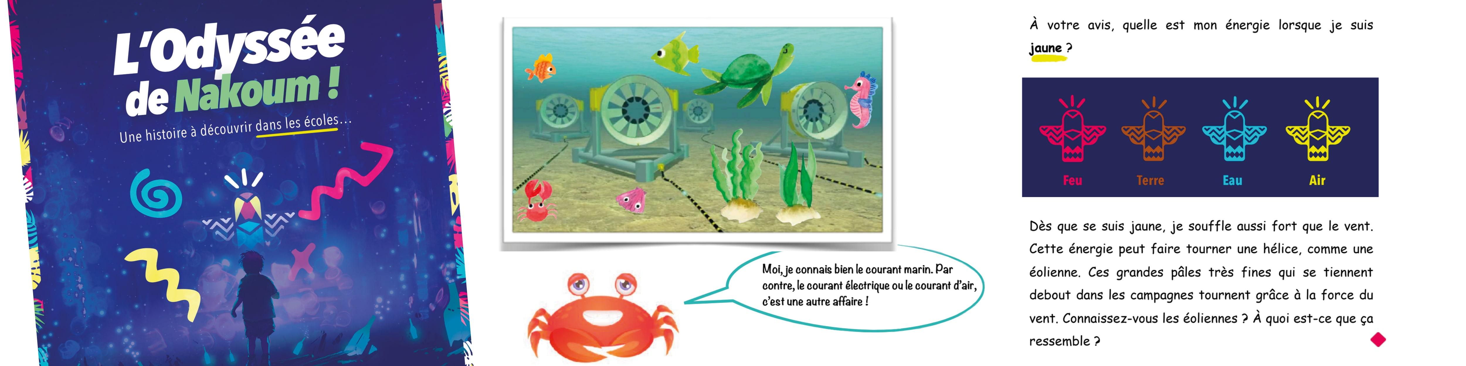 L'Odyssée de Nakoum, une histoire pour sensibiliser les enfants à l'écologie