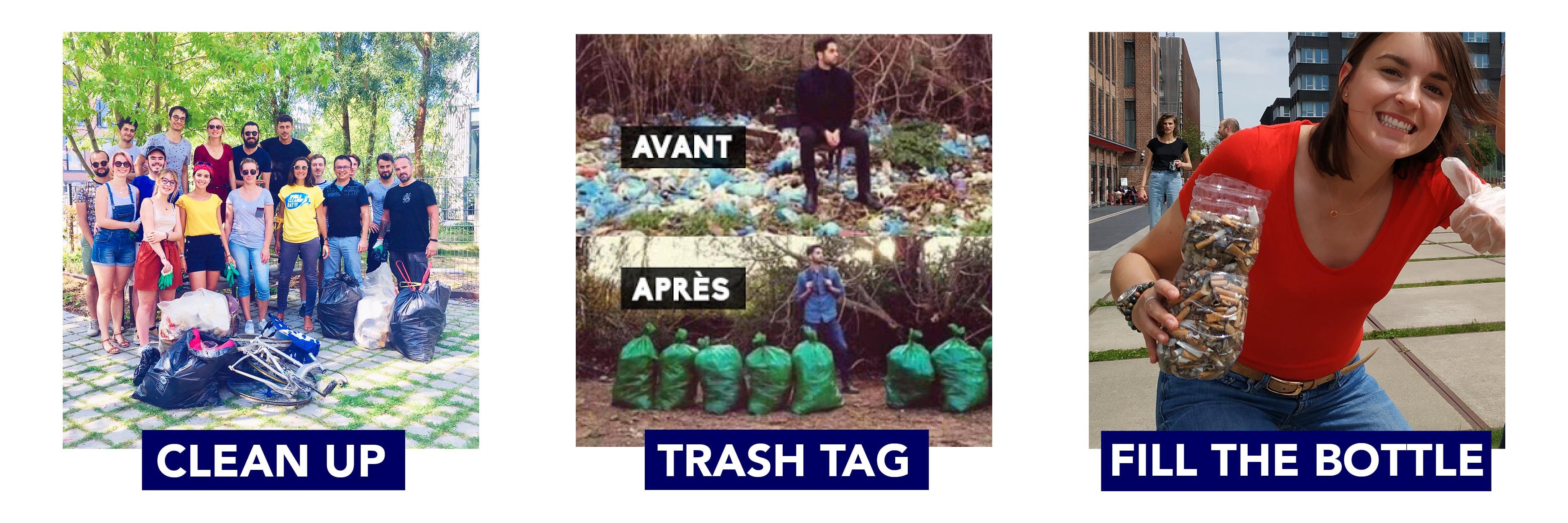 Les différents types de ramassages de déchets