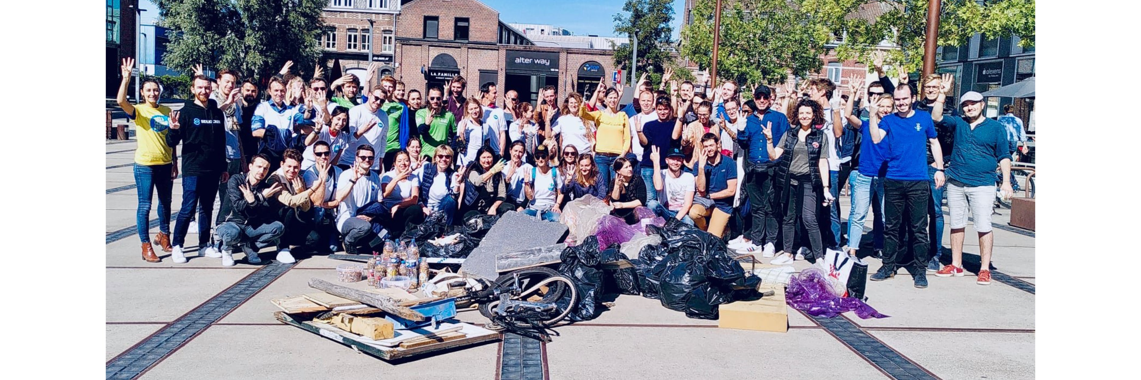 World Clean Up Day Energic