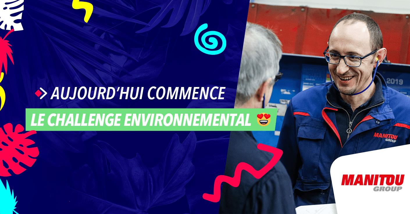 Lancement du Challenge Environnemental Energic chez Manitou Group