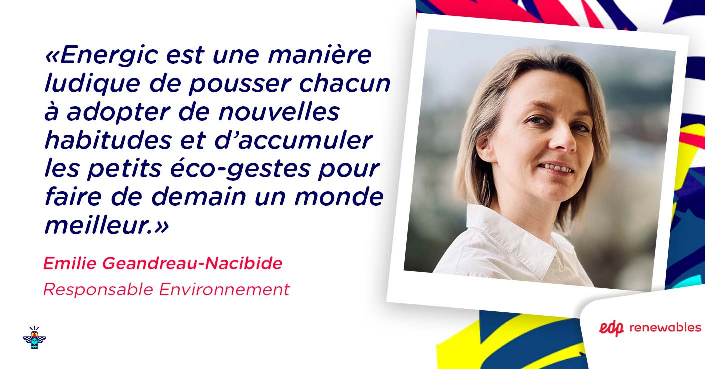 Verbatim d'Emilie, Responsable Environnement