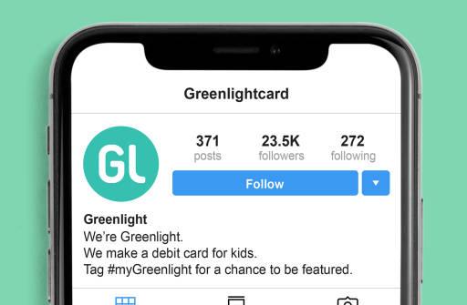 Greenlight social media