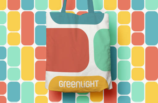 Greenlight totebag colorful