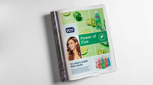 VO5 Print Advertisement