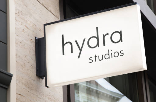 Hydra signage