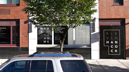 Eleven Hancock Sales Gallery