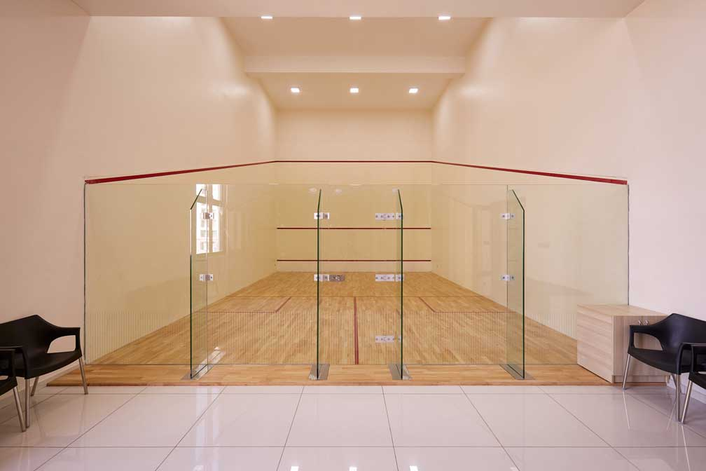 Alliance Orchid Springss Residential Community in Chennai with Squash Court