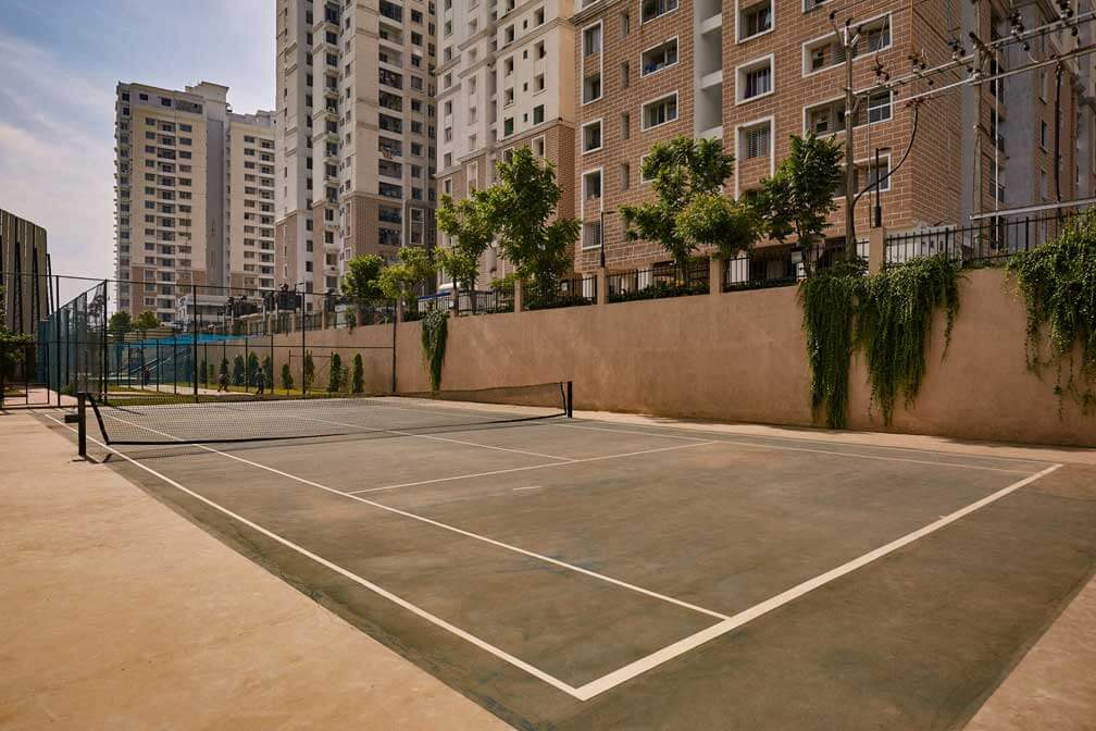 Alliance Orchid Springss Residential Community in Chennai with Tennis Court