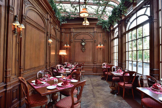 Cafe Pushkin in moscow