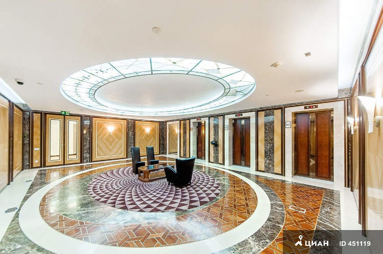 Moscow international business center apartments