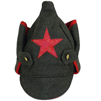 Budenovka Russian army hat