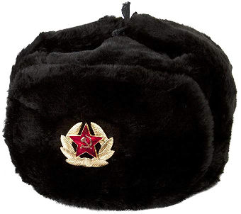 Russian fur hat ushanka