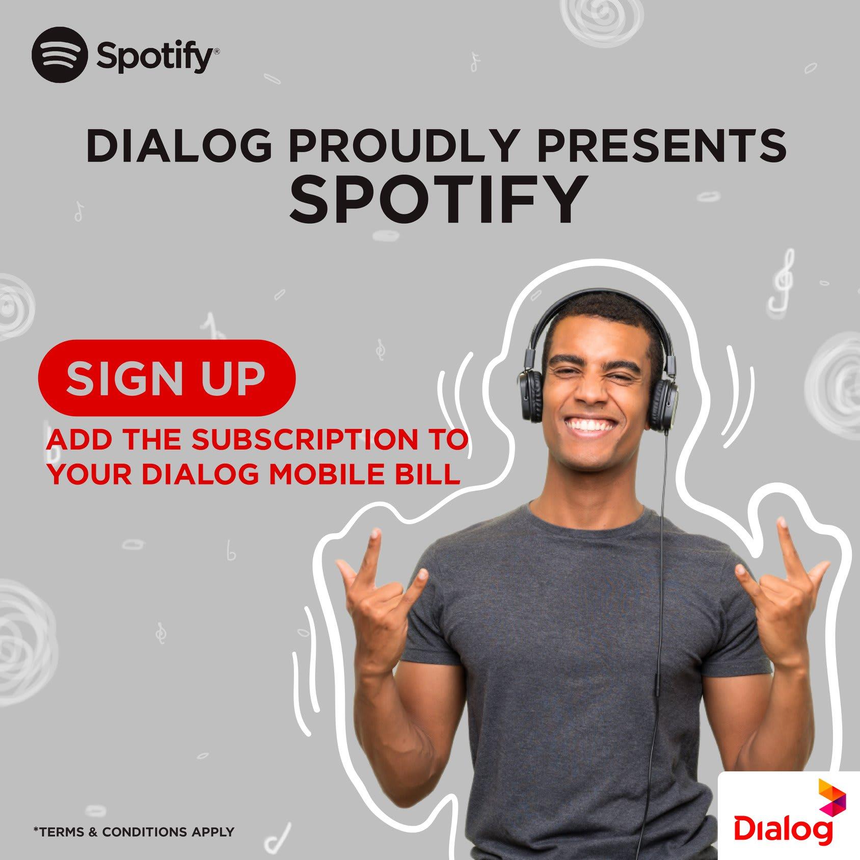 Spotify Sri Lanka Dialog