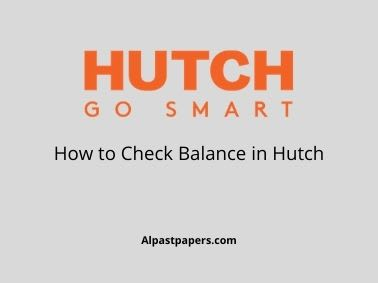 How to Check Balance in Hutch