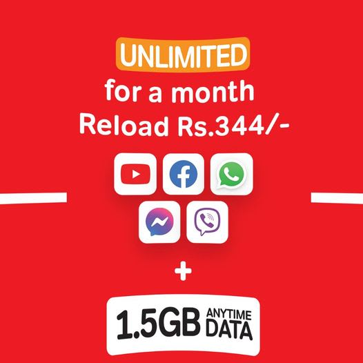 airtel 344 unlimited package