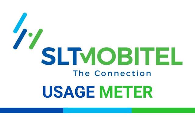 SLT Broadband Portal Usage Check