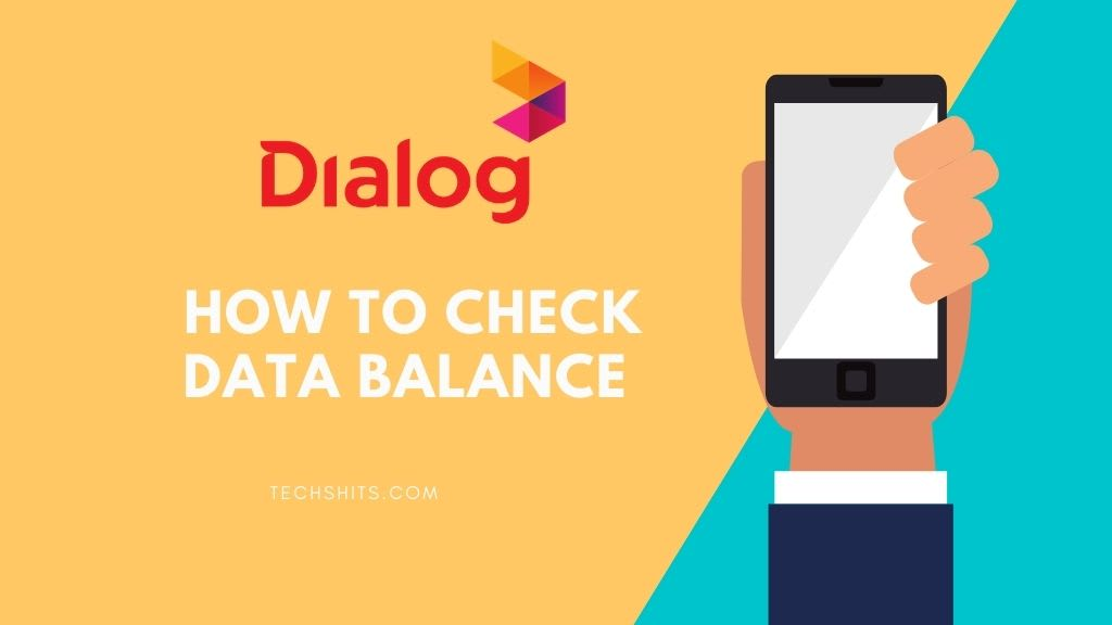 How To Check Data Balance in Dialog Router