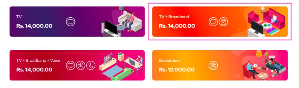 Dialog Fiber Service Price Details